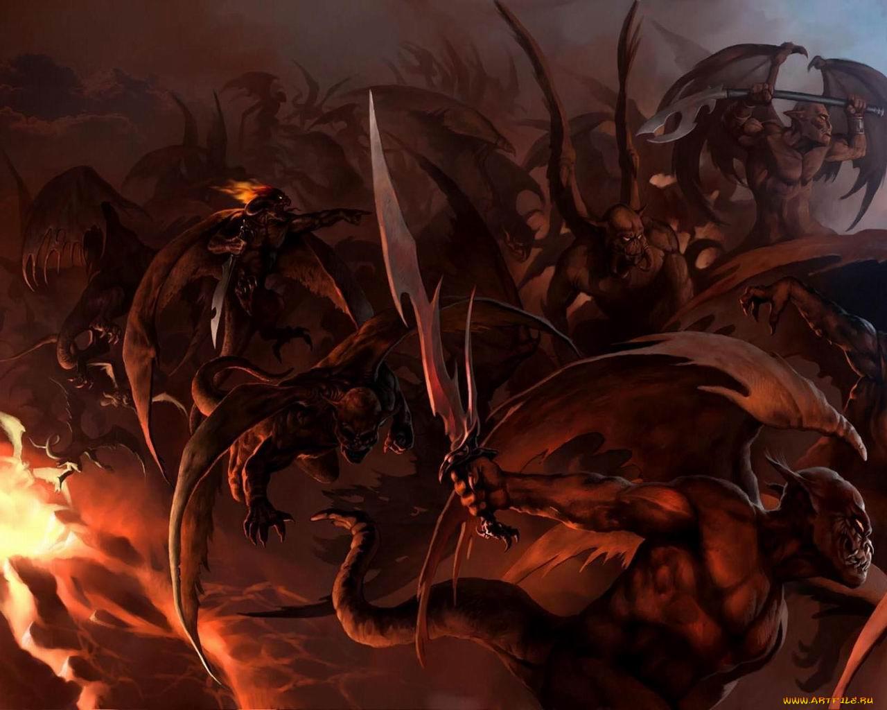 Демоны ада фото и описание